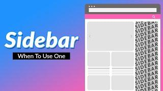 What is a Sidebar and Do You Need One on Your Blog?