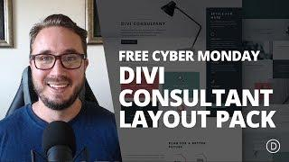 FREE Cyber Monday Divi Consultant Layout Pack