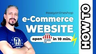 eCommerce Website  Start Your Online Store in 2020 FAST  [10 MIN]