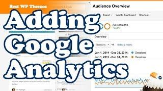 Adding Google Analytics to your Affiliate site
