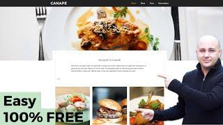 How-to Make a Restaurant Website With WordPress 100% Free, In 60 Minutes