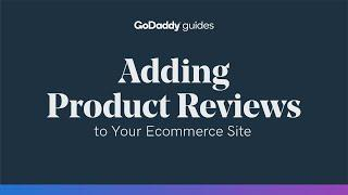 Adding Product Reviews to Your Ecommerce Site to Increase Trust