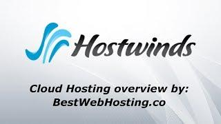 HOSTWINDS CLOUD HOSTING - Deploy your cloud server in seconds - overview by Best Web Hosting