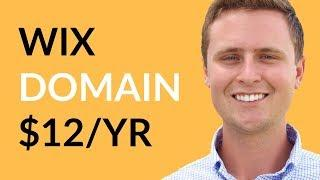 WIX Website Domain ONLY $12/YEAR