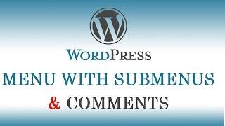 6.) WordPress Tutorials in Hindi / Urdu for Beginners - How to create Dropdown Menu with Submenus