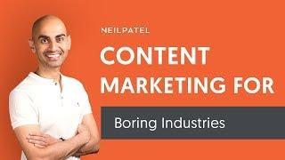 How to Write Engaging Blog Content For Boring Industries