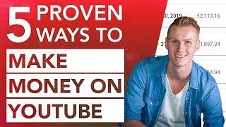 How To Make Money On Youtube in 2020 | 5 Proven Ways + Results