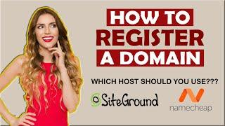 How to Register a Domain: Quick and Easy to DO!!!