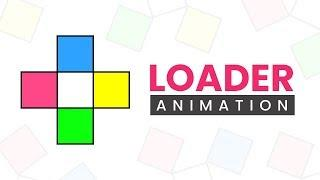 CSS Rotating Square Loader Animation Effects
