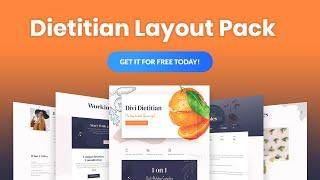 Get a FREE Dietitian Layout Pack for Divi