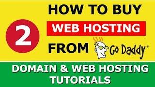 How to buy Web Hosting from Godaddy | Explained in Hindi