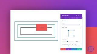 Understanding and Using the Relative Position in Divi