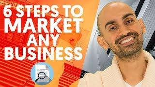 My Marketing Plan Process - 6 Steps to Marketing Any Business (Products or Services)