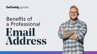 The Benefits of a Professional Email Address