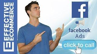 New Facebook Ad Types Including Click to Call, Carousel and Dynamic Product Ads