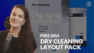 Get a FREE Dry Cleaning Layout Pack for Divi