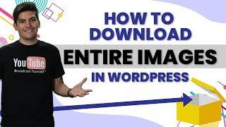 How To Download Your Entire Media Wordpress Media Library - WP File Manager Wordpress Plugin