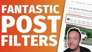 Fantastic Post Filters for WordPress using Elementor - [Make navigating your articles easier!]
