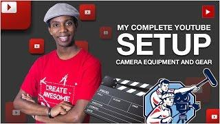My YouTube Setup Revealed! | YouTube Camera Setup, Lighting and Audio