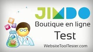 E-boutique Jimdo – Notre test complet