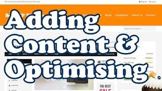 Adding and Optimising Affiliate Content Reviews