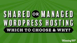 Shared or Managed WordPress Hosting, Which to Choose and Why?