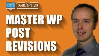 WordPress Post Revisions Allow You To Undo Post and Page Changes