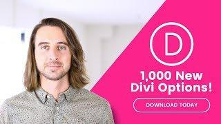 Divi Feature Update! 1,000 New Foundational Options, Improved Options Usability & Clarity