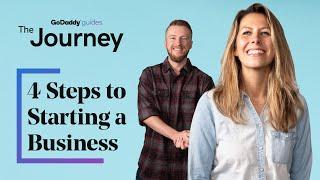 4 Steps to Starting a Business