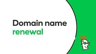 Domain Name Renewal | GoDaddy