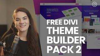 Download The Second FREE Theme Builder Pack For Divi