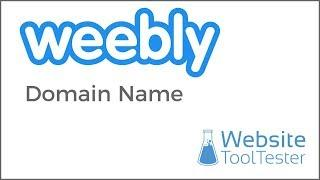 Domain Names Options with Weebly