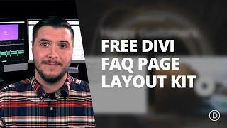 Free Divi FAQ Layout Pack