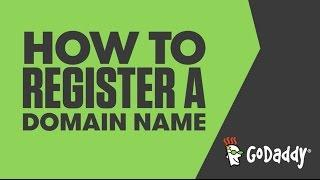 How to Register a Domain Name | GoDaddy United Kingdom