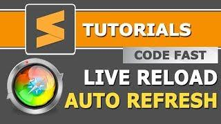 How to Auto Refresh your Browser on file save | Sublime Tutorials in Hindi