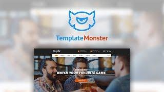 Sports Bar & Restaurant Multipage Website Template #62173