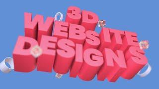 3D Website Designs for Inspiration 2020 | TemplateMonster