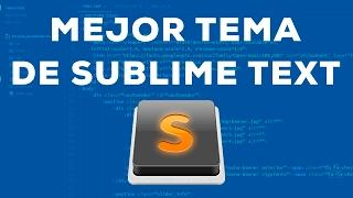 MI NUEVO TEMA FAVORITO DE SUBLIME TEXT