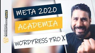 Metas do Canal Academia Wordpress Pro X Para 2020