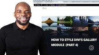 Changing the Number of Columns in the Divi Gallery Module